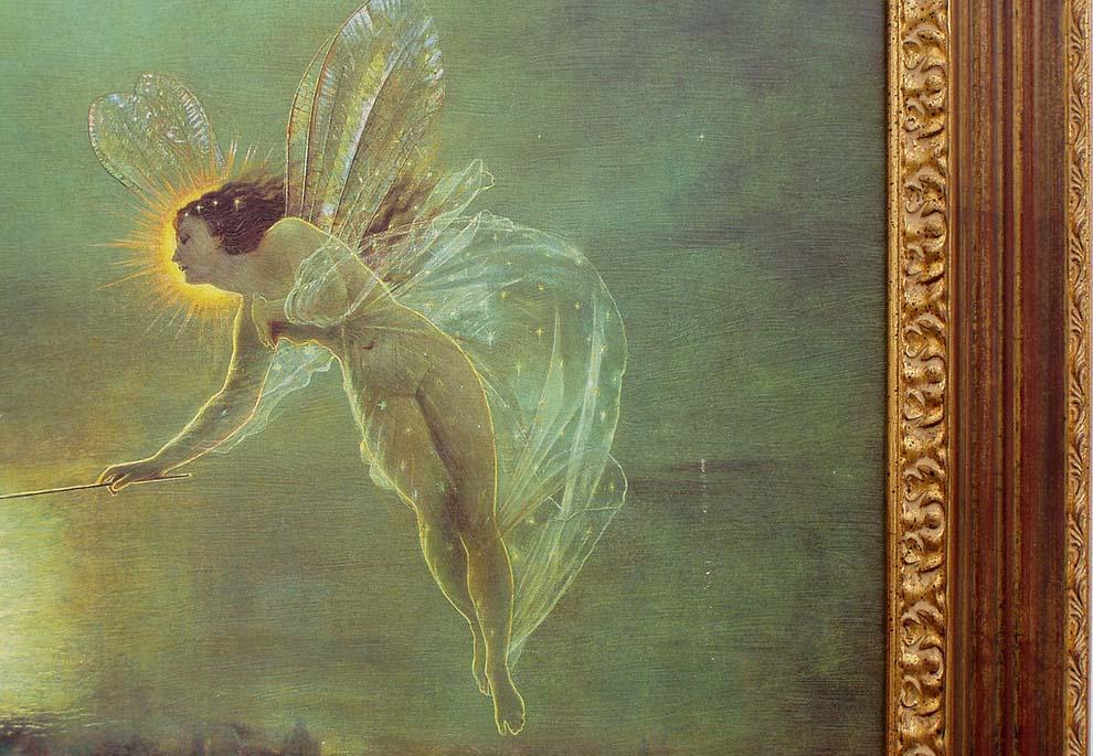 "/""Spirit of the Night/"" by John Atkinson Grimshaw"