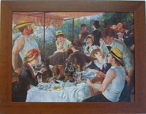 pierre auguste renoir luncheon of the boating party analysis essay